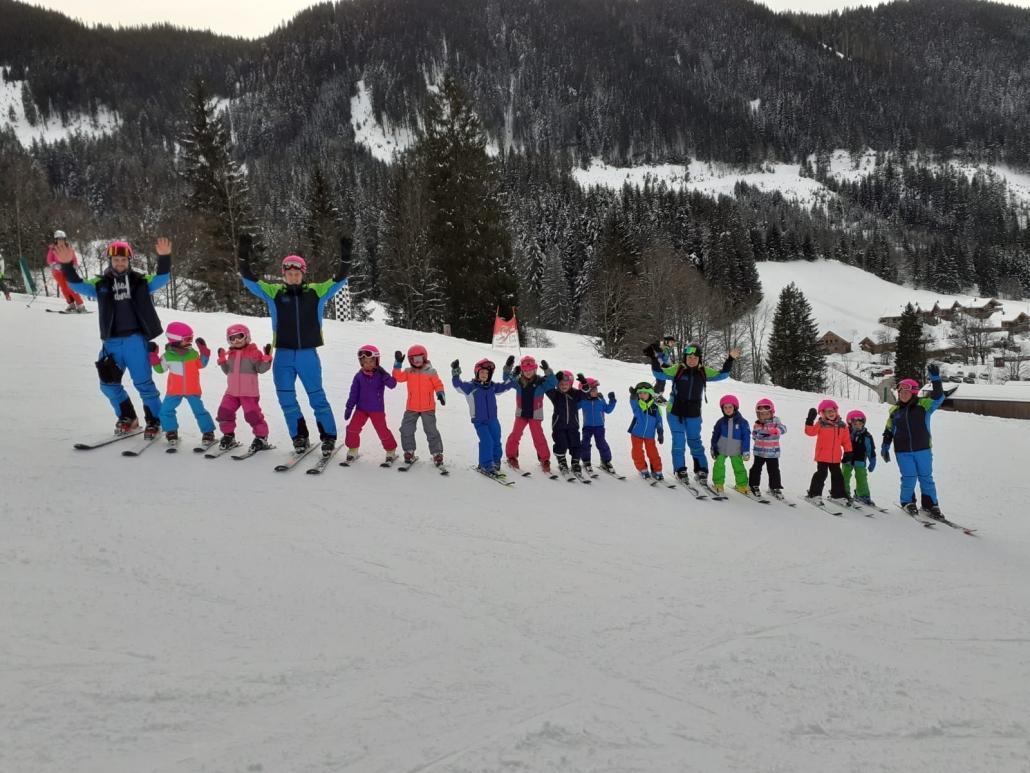 Werfenweng Kinderskifahren
